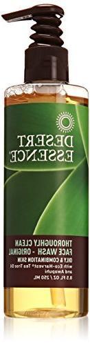 Desert Essence Thoroughly Face Wash - 8.5 fl oz