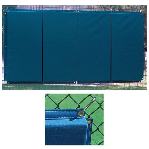 Folding Backstop Padding 4 x 10 ft. - Royal
