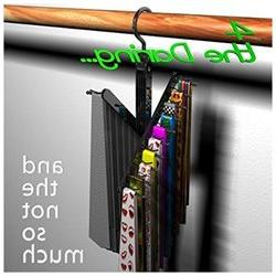 Tie Rack Hanger Organizer the Compact Necktie Hanger Cross