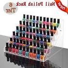 6 Tiers Clear Acrylic Nail Polish Cosmetic Display Stand