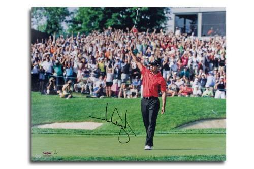 "Tiger Woods Autographed ""Sunrise"" 20x24 Photo - Unframed"