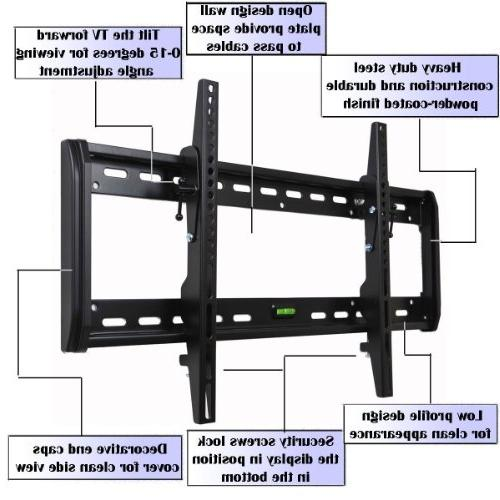 VideoSecu Low Profile Tilt TV Wall Mount Bracket for LG 47""