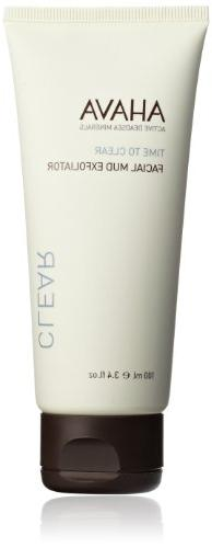 Time To Clear Facial Mud Exfoliator by AHAVA for Unisex - 3.