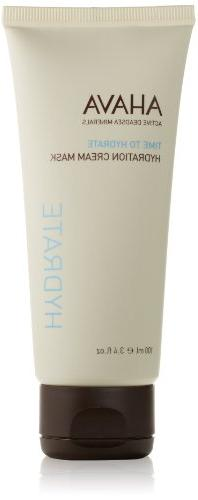 AHAVA Time to Hydrate Hydration Cream Mask, 3.4 fl. oz
