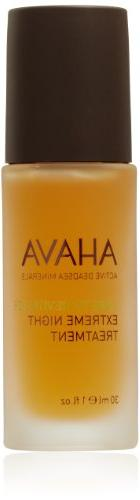 AHAVA Time to Revitalize Extreme Night Treatment, 1 fl. oz