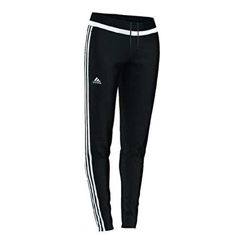 Performance Women's Tiro Training Pant, Large, Black/Flash