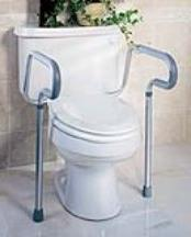 Toilet Safety Frame Handles Case of 2