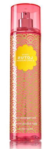 Tokyo Lotus & Apple Blossom Fine Fragrance Mist 8 Oz