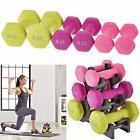 Women Gym Exercise Training Hand Weights Dumbbells Set