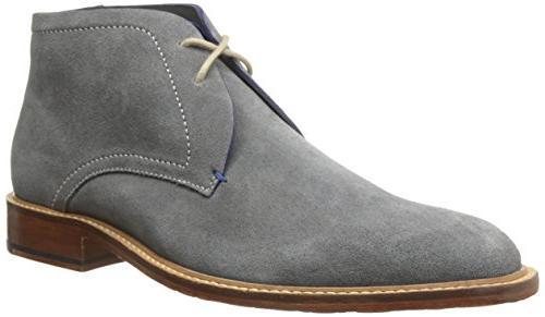 Ted Baker Men's Torsdi 3 Chukka Boot, Dark Grey Suede, 10 M
