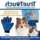 True Touch Massage Glove Deshedding Gentle Pet Cat Dogs Bath