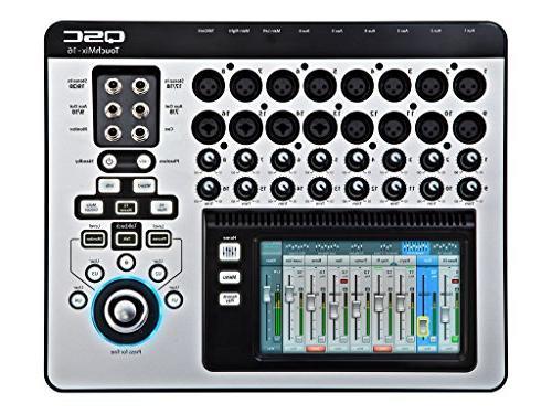 QSC TouchMix-16 Compact Digital Mixer with Case