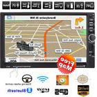 "7"" HD Touchscreen 2 DIN Car GPS Stereo MP5 Player Bluetooth"