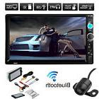 "7""  Touchscreen Double 2Din In dash Car Stereo Radio Mp5 DVD"