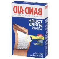 Band-Aid Tough-Strips Adhesive Bandages, Waterproof, Extra
