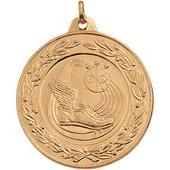 "Track Medals - 2"" Gold"
