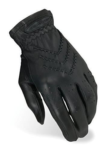 Heritage Traditional Show Glove, Black, Size 5
