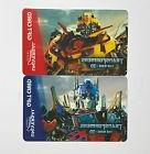 TRANSFORMERS THE RIDE 3-D UNIVERSAL STUDIOS 2-PACK GIFT