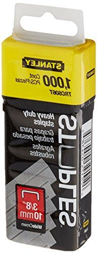 Stanley Trc606T 3/8 Inch Heavy Duty Wide Crown Staples, Pack