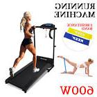 New 600W Treadmill Electric Walking Compact Exercise Machine