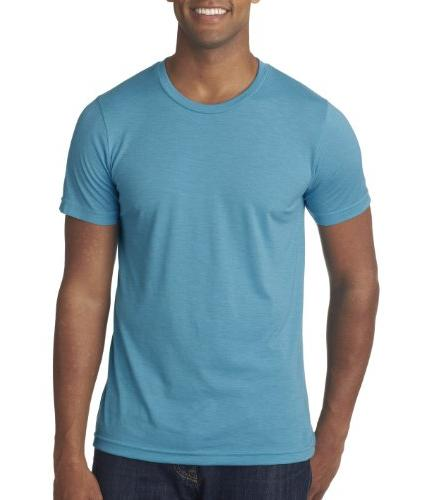 Canvas 3413 Unisex Triblend Short-Sleeve T-Shirt, Orange,