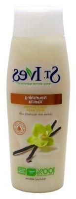 St. Ives Triple Butters Body Wash Nourishing Vanilla
