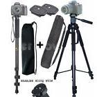 """72"""" Tripod For Canon Sony Nikon Camera  2 Quick Release"""