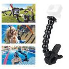 Tripod Support Flexible Jaws Clip Arm For GoPro HD Hero 4 3/