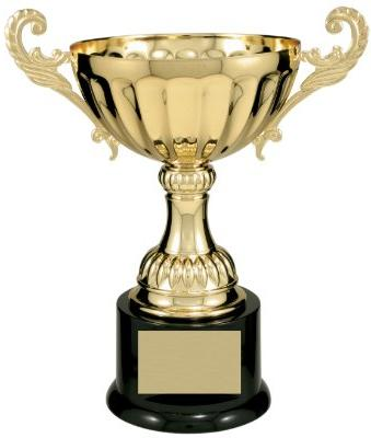 Trophy Paradise Series 104 Metal Cup Trophy - Gold - 9.75