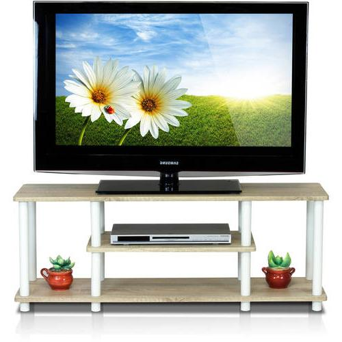 Furinno Turn-N-Tube No Tools 3D 3-Tier Entertainment TV