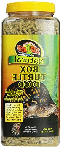 Zoo Med Natural Box Turtle Food, 20-Ounce