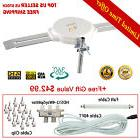 TV Antenna Full 1080 HDTV Outdoor LAVA HD-8008 150 Miles +