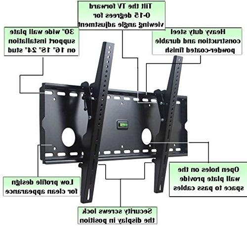 "VideoSecu Tilt TV Wall Mount Bracket for Samsung 65"" 60"" 50"