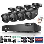 ANNKE HD-TVI 720P Surveillance Kit 8CH 1080N DVR usb Backup