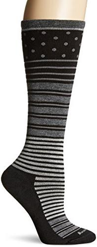 Sockwell Women's Twister Socks, Black, Small/Medium