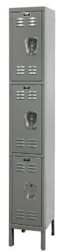 """Hallowell U1258-3HG Premium Locker, 12"""" Width x 15"""" Depth x"""