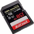 SanDisk 128GB Extreme Pro UHS-1 Secure Digital Memory Card