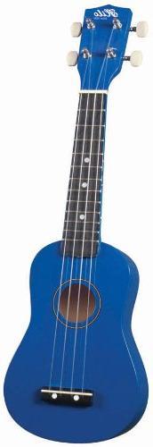Hilo Ukuleles 2500BL Soprano Ukulele - Blue