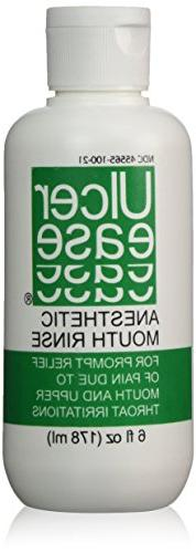 Ulcer Ease Anesthetic Mouth Rinse, 6 fl oz