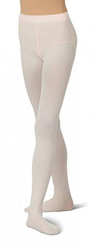 Capezio Girl's Ultra Footed Soft Tights Pink O/S