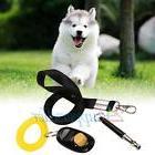 3pcs Ultrasonic Dog Training Whistle + Pet Train Clicker +