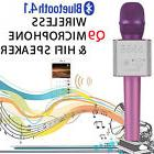 Updated Q9 100% Original Karaoke Microphone IOS/Android/