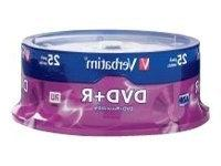 Verbatim 4.7 GB up to 16x Branded Recordable Disc DVD+R 25-