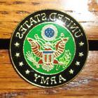 US Army Metal Pin Military Lapel tack Hat Jacket Tac