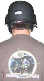 US Army Training Helmet and Helmet Cam Package - paintball