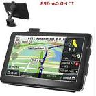"【USA Seller】7"" HD Touch Screen CAR TRUCK 8GB GPS"
