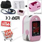 USA CMS50DL pink Fingertip Pulse oximeter Spo2 Monitor Blood