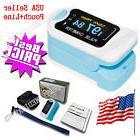 USA Seller OLED Portable Fingertip Pulse Oximeter SPO2 Heart