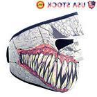 Motorcycle Cycling Half Face Mask Cover Skull Snowboard Ski