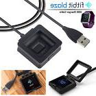 USB Charging Wire Cable Cradle Dock Charger Cord For Fitbit